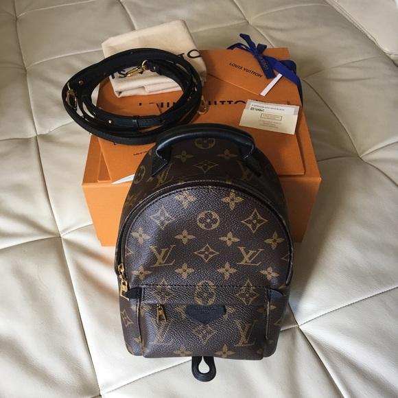 1f3ec4c6dbfd Louis Vuitton Palm Springs Mini Price Negotiable
